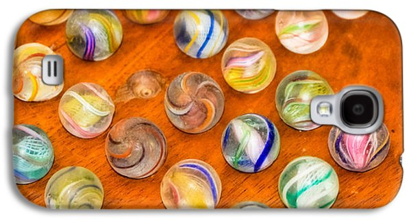 Antique Marbles - Vintage Toys Galaxy S4 Case by Colleen Kammerer