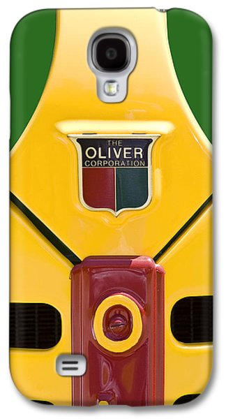 Tractors Galaxy S4 Case - Antique Oliver Tractor by Tom Mc Nemar