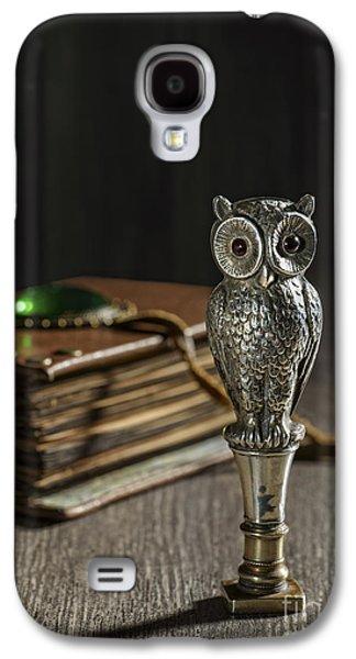Antique Owl Seal Galaxy S4 Case