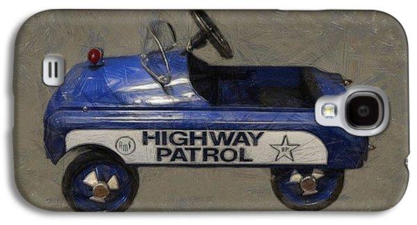Antique Pedal Car V Galaxy S4 Case by Michelle Calkins