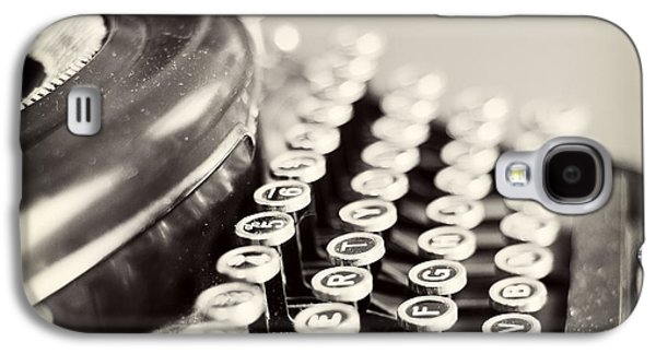 Antique Typewriter Galaxy S4 Case by Ivy Ho