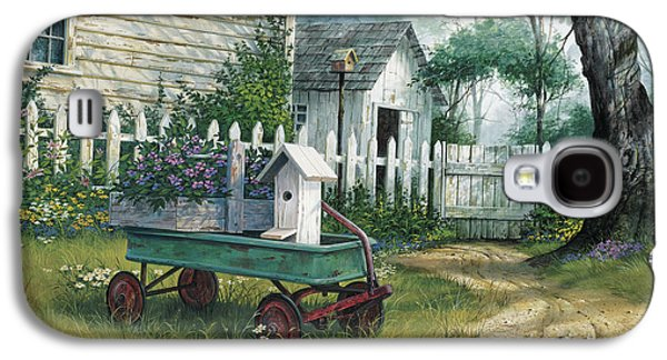 Antique Wagon Galaxy S4 Case