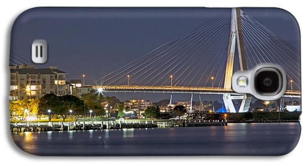 Anzac Bridge By Night Galaxy S4 Case