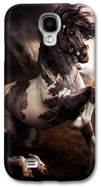 Apache Blue Galaxy S4 Case by Shanina Conway