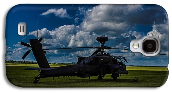Apache Gun Ship Galaxy S4 Case
