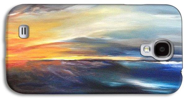 Erie Sky Galaxy S4 Case by Jessica Maron