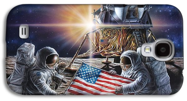Apollo 11 Galaxy S4 Case by Don Dixon