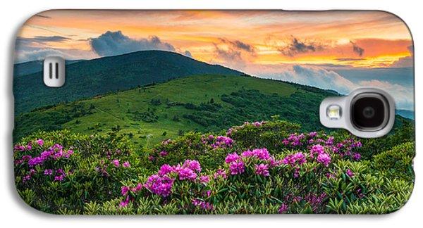 North Carolina Appalachian Trail Roan Mountain Highlands Galaxy S4 Case