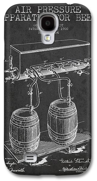 Apparatus For Beer Patent From 1900 - Dark Galaxy S4 Case by Aged Pixel