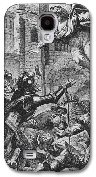 Apparition Of St Louis To Henri Iv Galaxy S4 Case by Joseph de Longueil