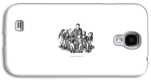 Appeal To Authority Galaxy S4 Case