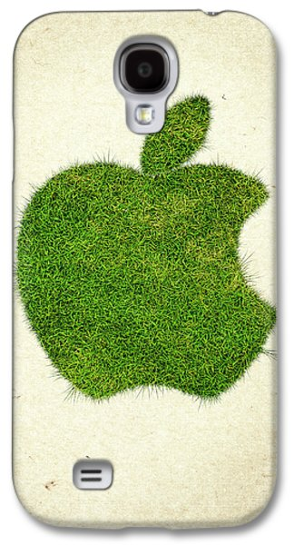 Apple Grass Logo Galaxy S4 Case by Aged Pixel