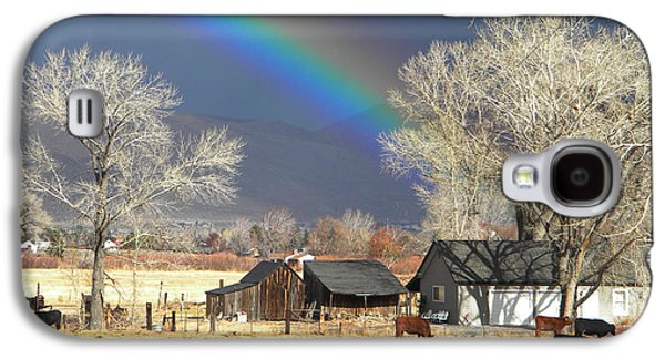 Approaching Storm At Cattle Ranch Galaxy S4 Case by Frank Wilson
