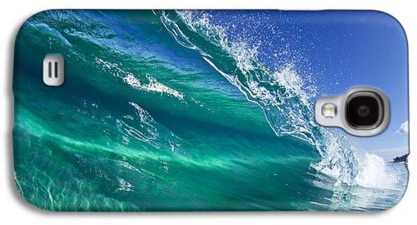 Aqua Blade Galaxy S4 Case by Sean Davey