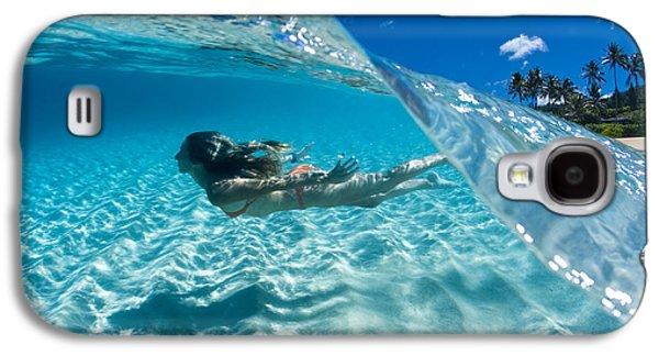 Aqua Dive Galaxy S4 Case by Sean Davey