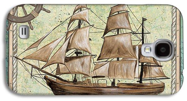 Aqua Maritime 1 Galaxy S4 Case