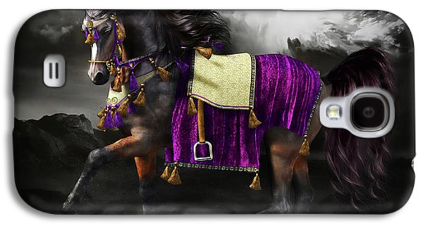 Arabian Horse  Shaitan Galaxy S4 Case