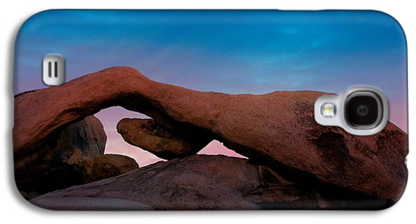 Arch Rock Evening Galaxy S4 Case by Stephen Stookey