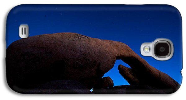 Arch Rock Starry Night Galaxy S4 Case by Stephen Stookey