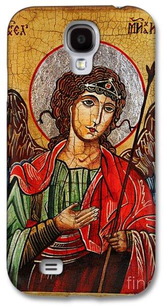 Archangel Michael Icon Galaxy S4 Case