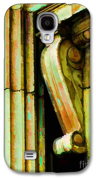 Archatectural Elements  Digital Paint Galaxy S4 Case by Debbie Portwood