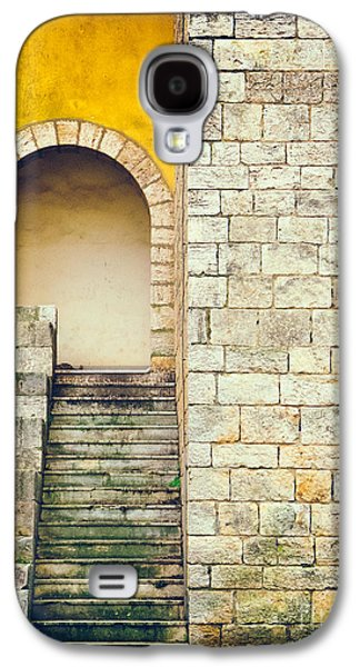 Galaxy S4 Case featuring the photograph Arched Entrance by Silvia Ganora