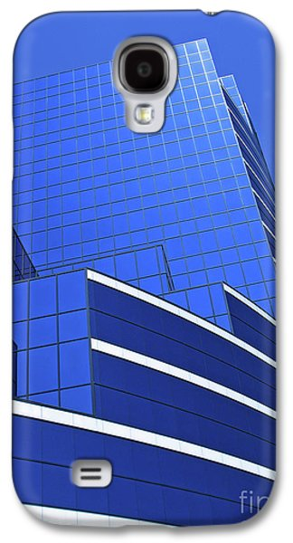 Architectural Blues Galaxy S4 Case by Ann Horn