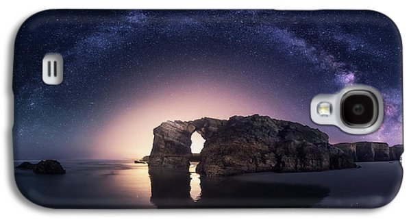 Beach Landscape Galaxy S4 Case - Arcos Naturales by Carlos F. Turienzo