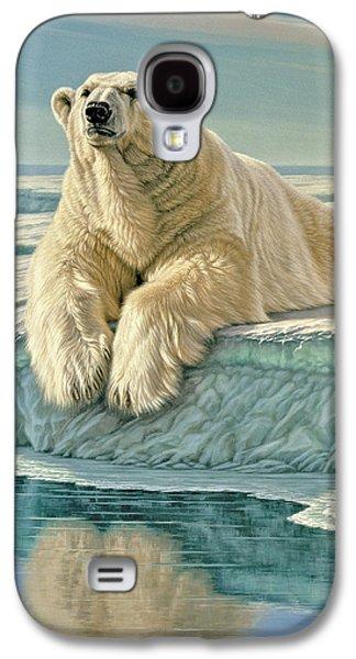 Polar Bear Galaxy S4 Case - Arctic Heir by Paul Krapf
