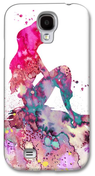 Extinct And Mythical Galaxy S4 Case - Ariel 2 by Watercolor Girl