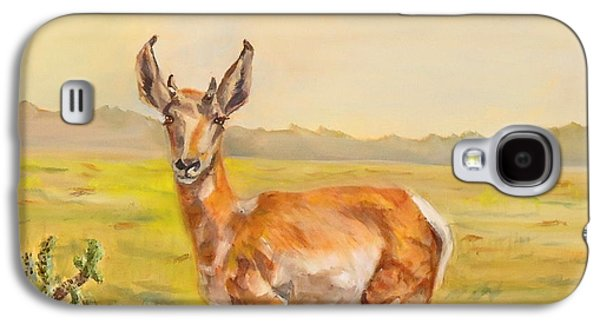 Arizona Sonora Desert Pronghorn Galaxy S4 Case by Charme Curtin