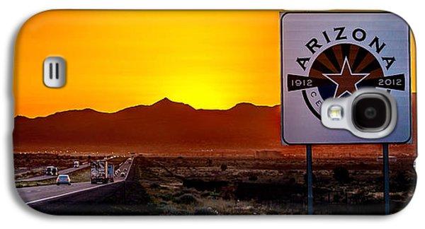 Truck Galaxy S4 Case - Arizona Centennial by Az Jackson