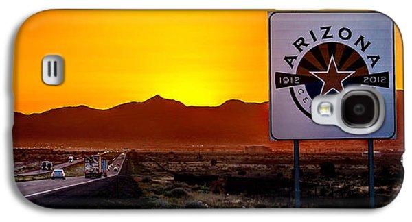 Arizona Centennial Galaxy S4 Case by Az Jackson