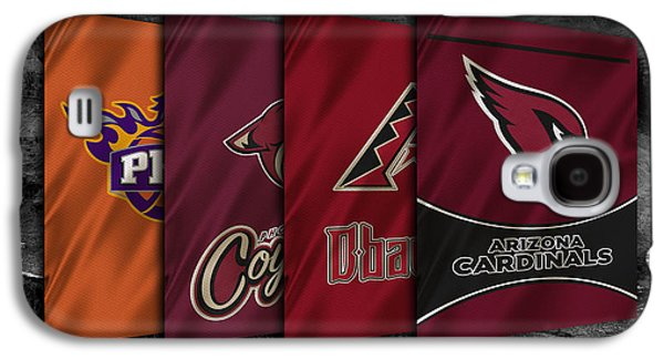 Arizona Sports Teams Galaxy S4 Case by Joe Hamilton