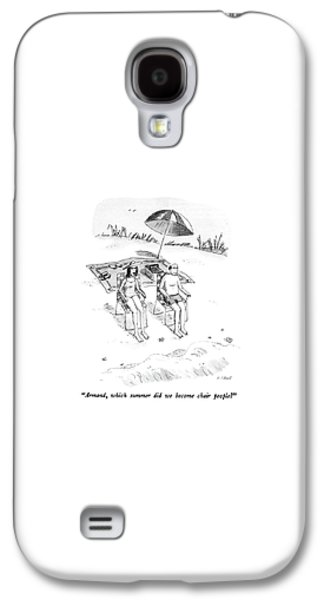 Armand, Which Summer Did We Become Chair People? Galaxy S4 Case