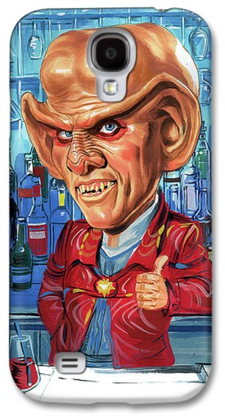 Armin Shimerman As Quark Galaxy S4 Case by Art