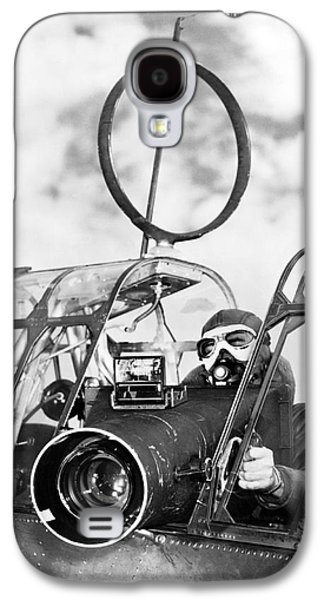 Army Air Force Camera Man Galaxy S4 Case by Underwood Archives