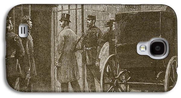 Arrival Of Mr Parnell At Kilmainham Galaxy S4 Case