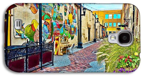 Art Alley Galaxy S4 Case by Keith Ducker