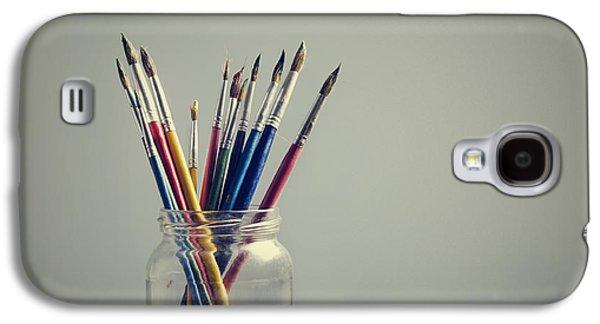 Art Brushes Galaxy S4 Case by Jelena Jovanovic