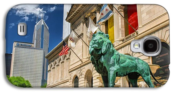 Art Institute In Chicago Galaxy S4 Case by Christopher Arndt