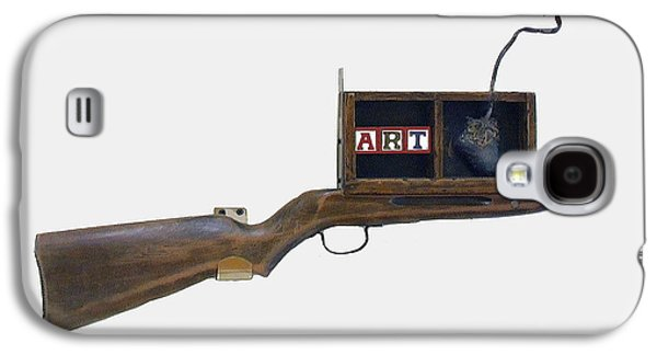Art Rifle Galaxy S4 Case by Bill Thomson