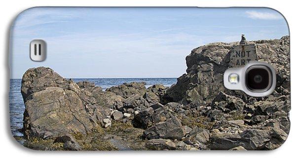 Art Rocks Galaxy S4 Case by Betsy Knapp