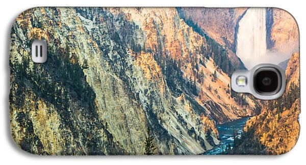 Artist Point - Yellowstone Park Horizontal Galaxy S4 Case by Andres Leon