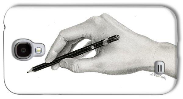 The Artist's Hand Galaxy S4 Case by Sarah Batalka