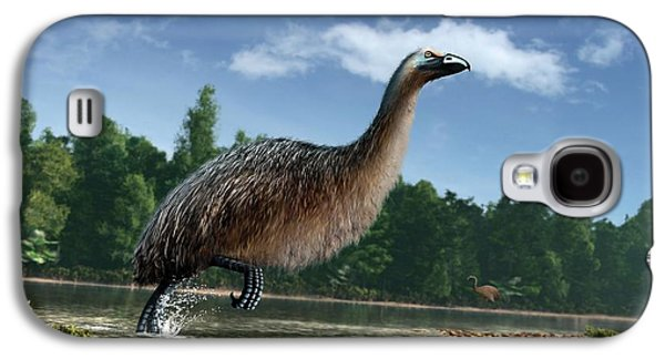 Artwork Of Giant Moa In New Zealand Galaxy S4 Case