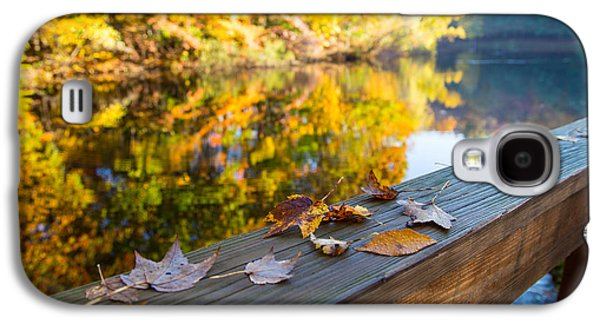 As The Leaves Fall Galaxy S4 Case by Karol Livote