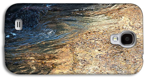 As The Ocean Wave Swirled It Looked Like Gold Galaxy S4 Case