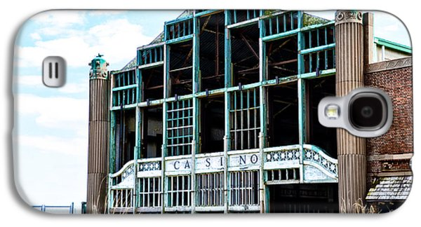 Asbury Park Casino - My City In Ruins Galaxy S4 Case by Bill Cannon