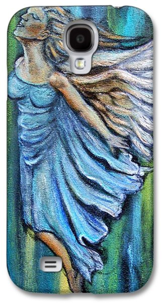 Ascending Angel Galaxy S4 Case by The Art With A Heart By Charlotte Phillips